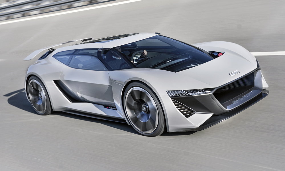 The new Audi PB18 e-tron has been revealed!