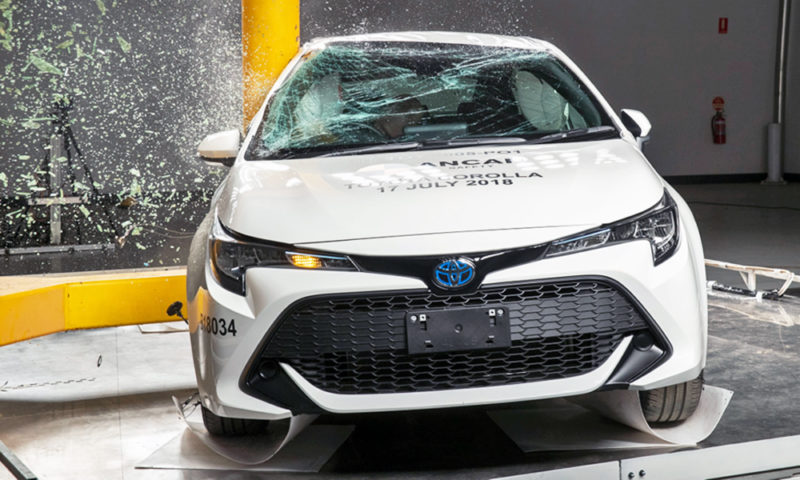 Toyota Auris fared well in its ANCAP