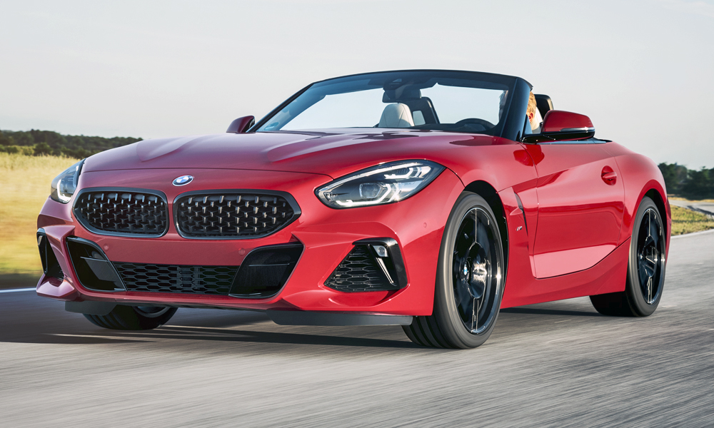 The new BMW Z4 roadster has finally been revealed.