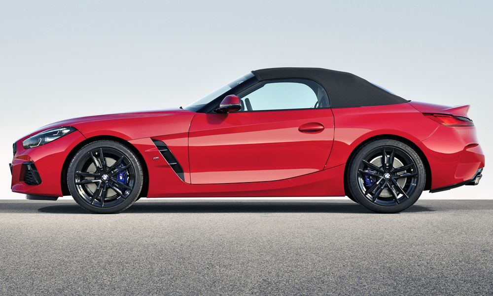 Here's what it looks like with the soft-top in place.