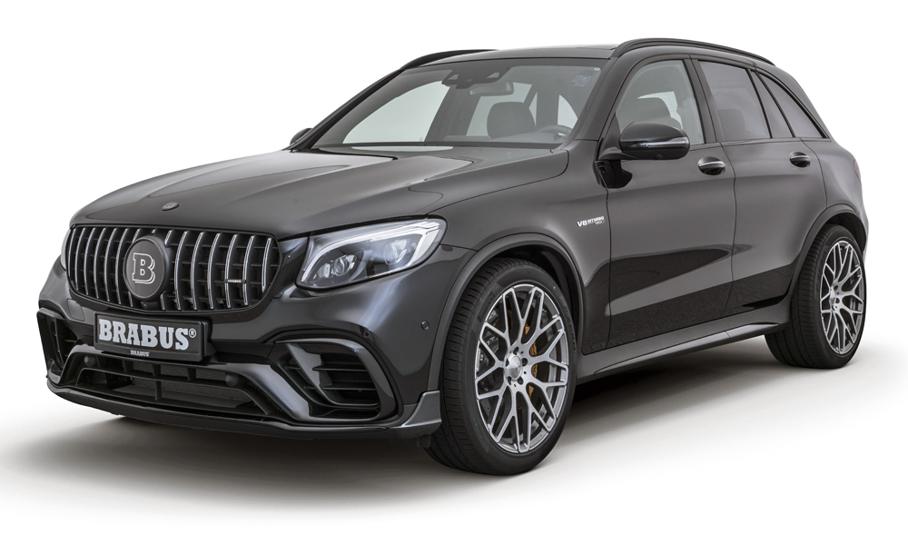Brabus has revealed its take on the Mercedes-AMG GLC63 S.