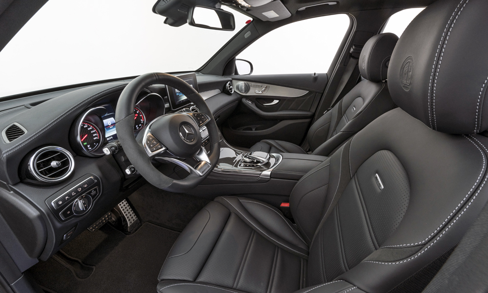 Numerous upgrades are offered for the interior.