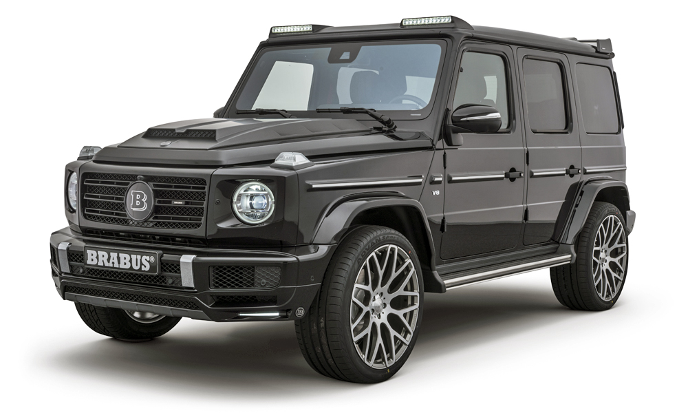 Brabus has revealed its version of the Mercedes-Benz G500.