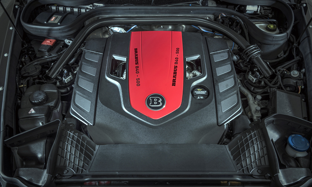 The V8 now pumps out 368 kW.