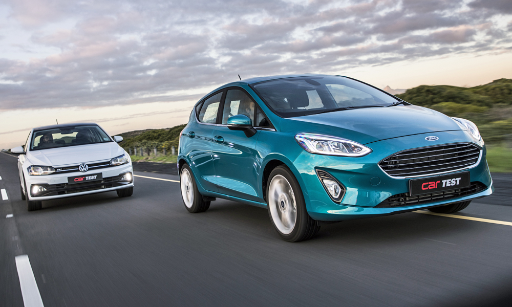 The Ford Fiesta takes on the Volkswagen Polo in our closest test of 2018 thus far.