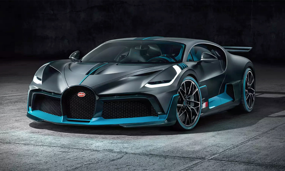 The new Bugatti Divo has been revealed.