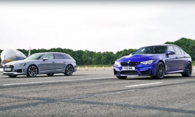 RS4 Avant takes on BMW M3 CS