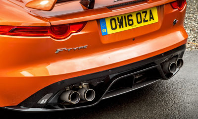 Jaguar F-Type SVR V8