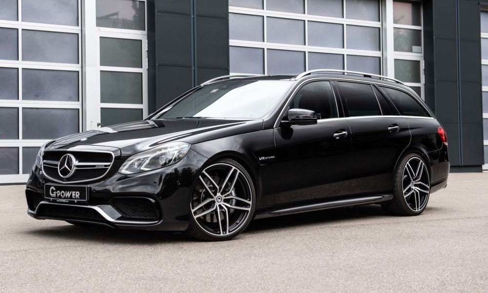 G-Power has added some crazy power to the E63 S stationwagon.