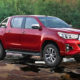 Toyota Hilux new face for derivatives