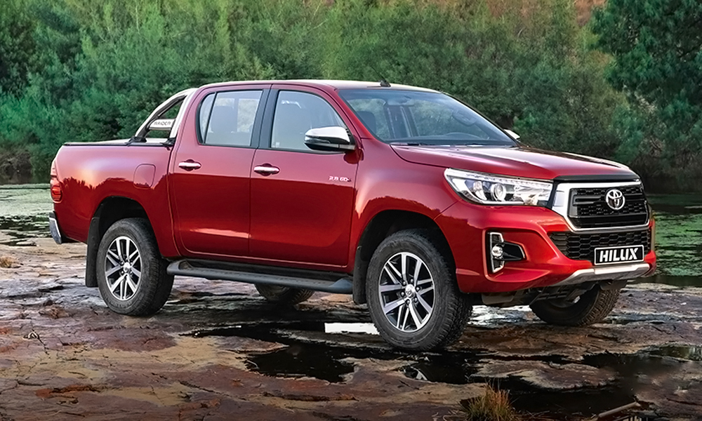 Toyota SA has added images of the updated Hilux to its website.