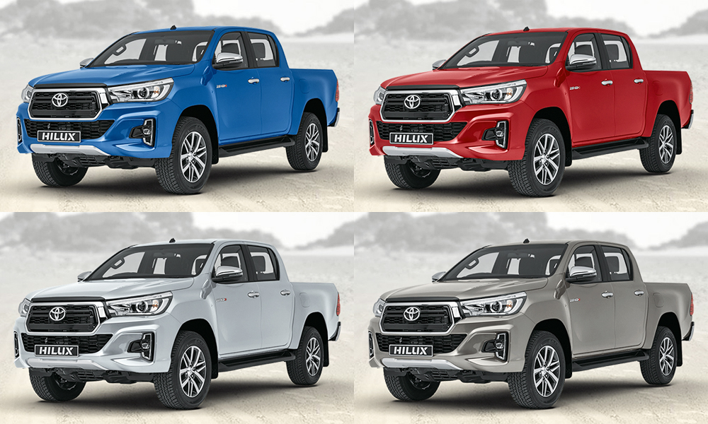 Toyota Hilux derivatives