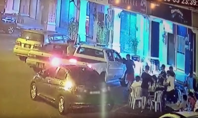 Toyota Hilux driver rams Honda that parked him in