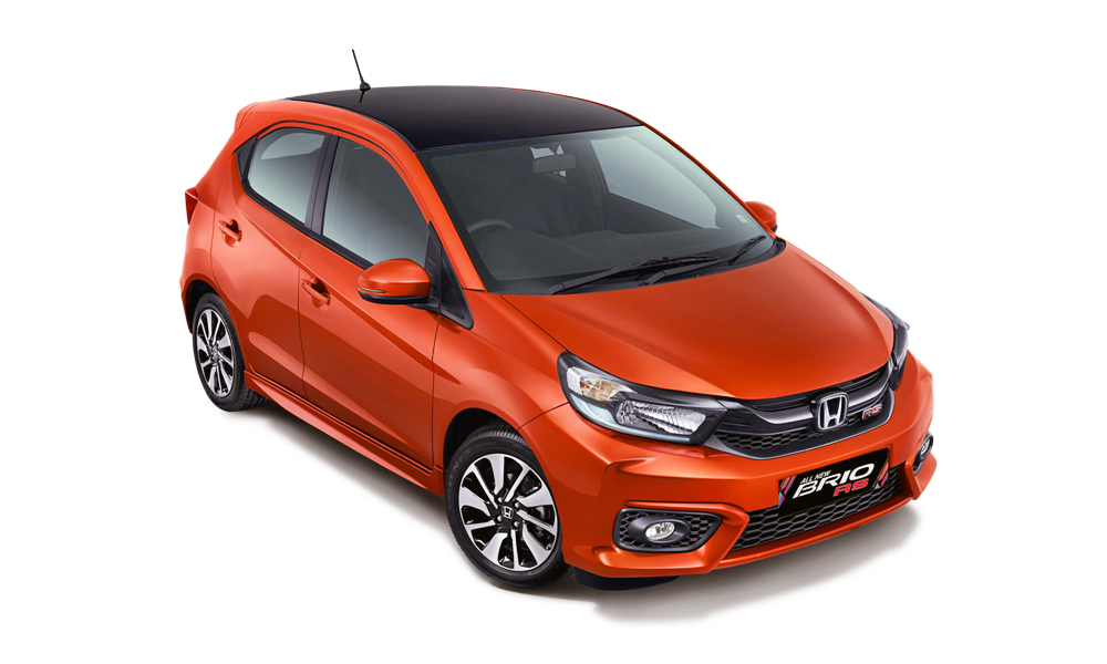 The new Honda Brio hatchback (here in RS trim) was revealed in Indonesia.