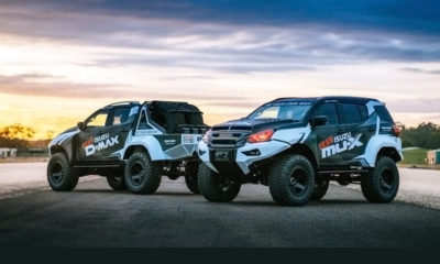 Daring Isuzu KB and MU-X concepts