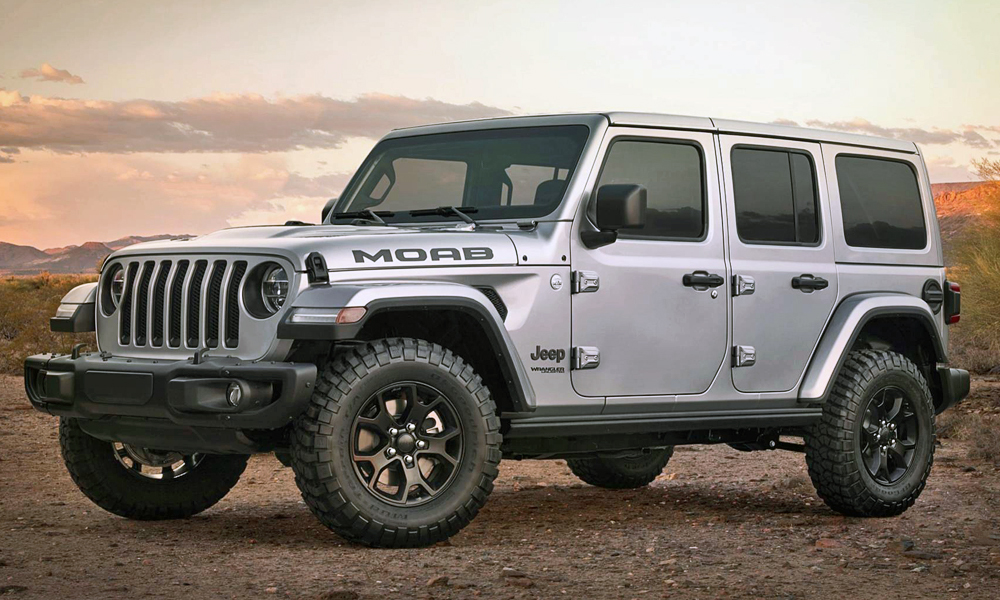 The new Jeep Wrangler Moab Edition has been revealed.