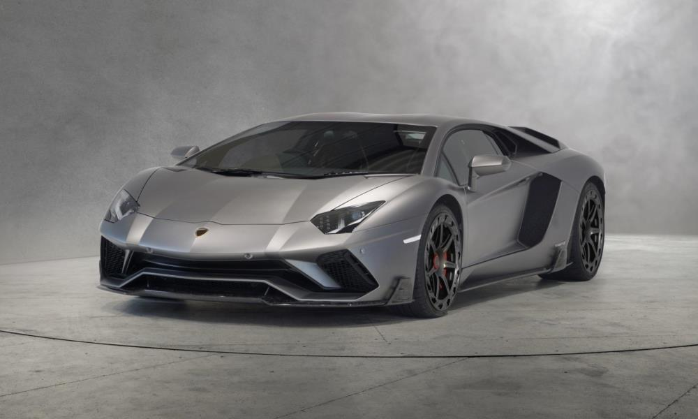 Mansory has created some new carbon-fibre parts for the Lamborghini Aventador S.