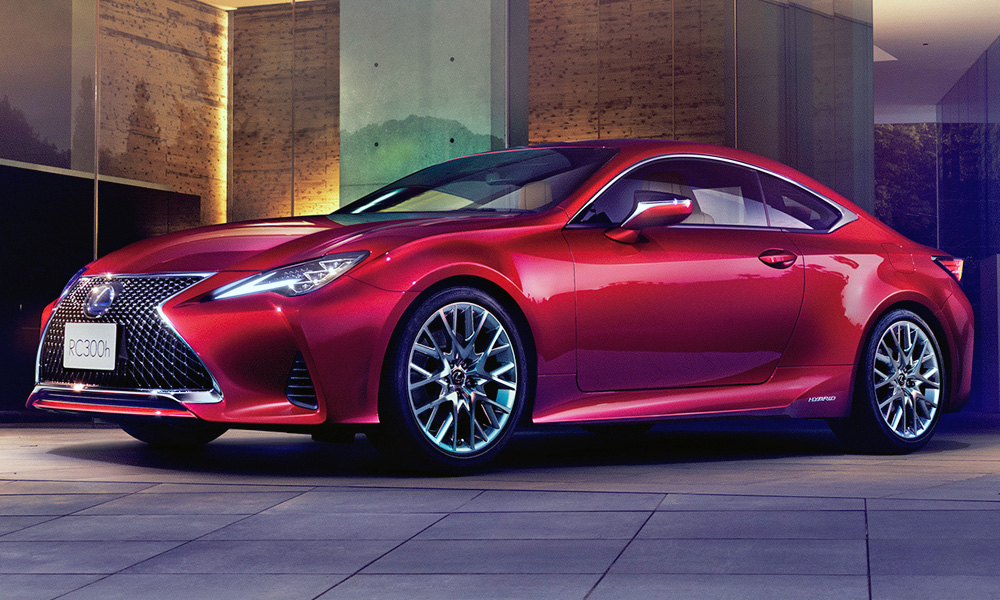 Lexus says it has made a few under-the-skin changes, too.