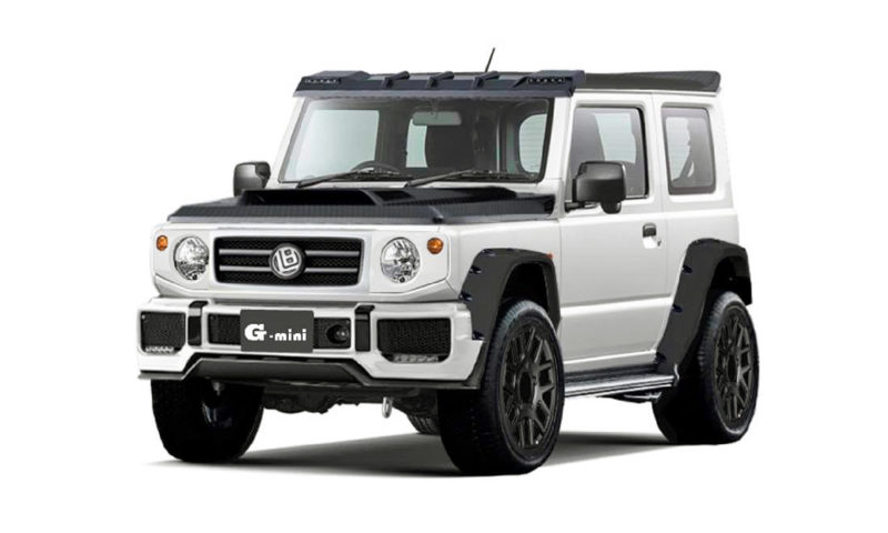 Nuovo Suzuki Jimny 2018 >> Liberty Walk to turn new Suzuki Jimny into baby G-Class! - CAR magazine