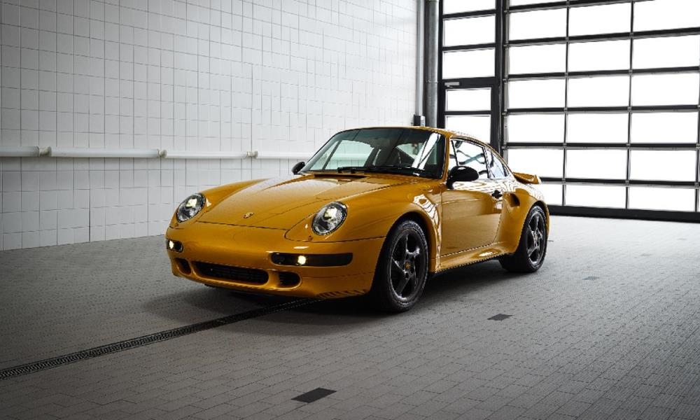 Porsche's Project Gold is a celebration of the brand's 70th anniversary.