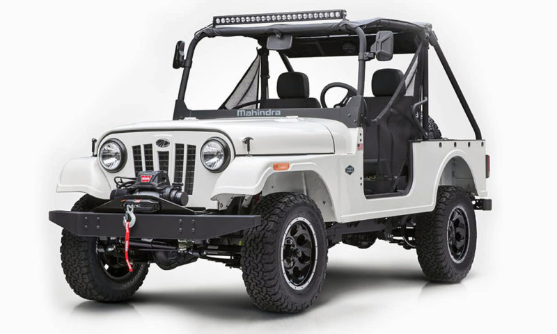 Fiat Chrysler looking to block Mahindra Jeep knock-off in U.S.