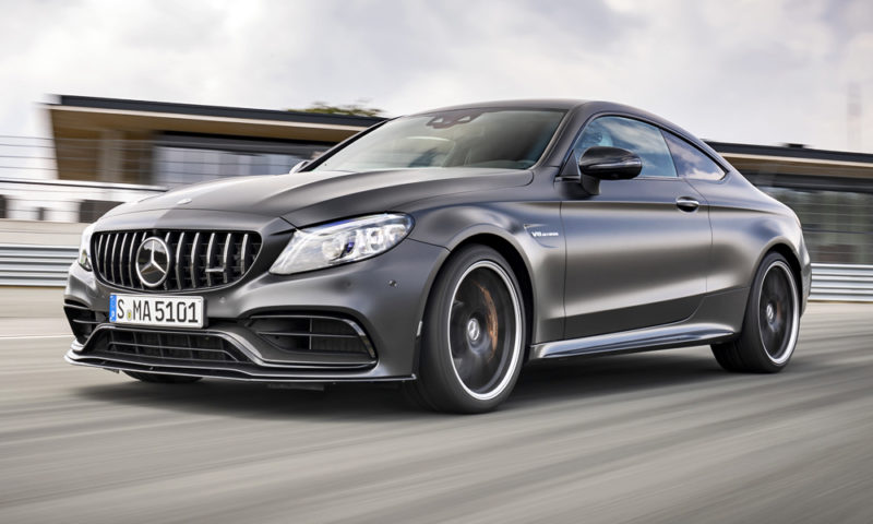 C63 Amg Coupe 2018 >> Pricing For Facelifted Mercedes Amg C63 S Coupe Revealed Car Magazine