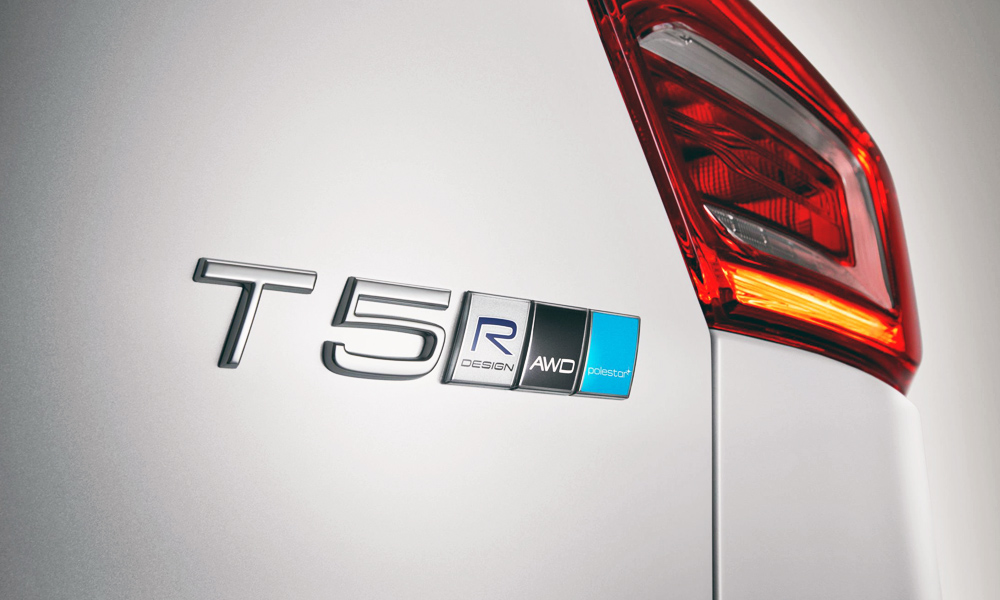 Volvo AWD Polestar badge
