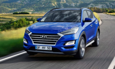 Facelifted Hyundai Tucson