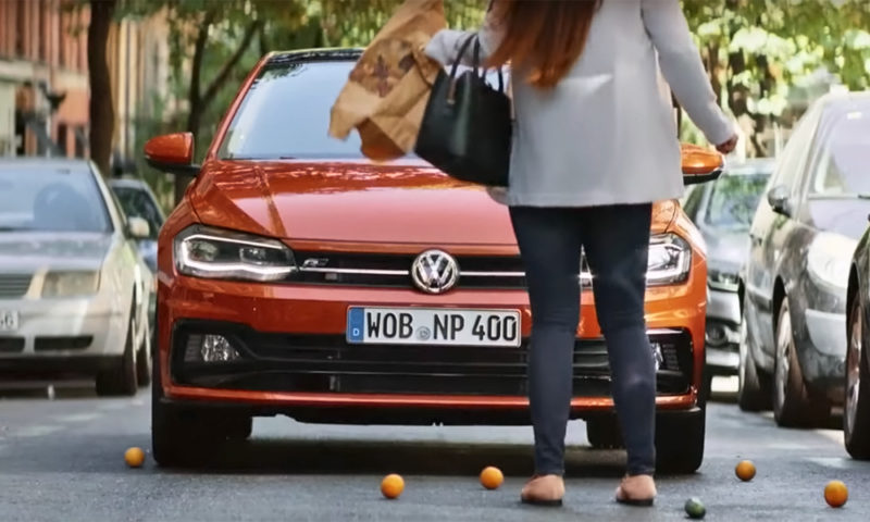 Volkswagen Polo advert