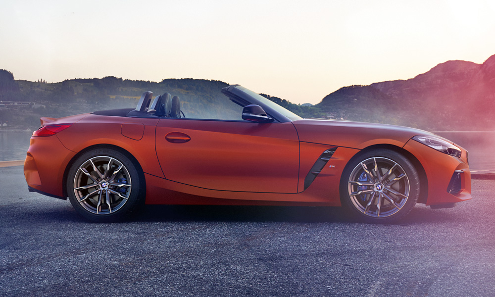 The First Edition is finished in Frozen Orange exterior paint.