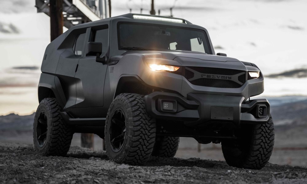 The 527 kW Tank X is Rezvani's 'most hardcore' Xtreme Utility Vehicle to date.