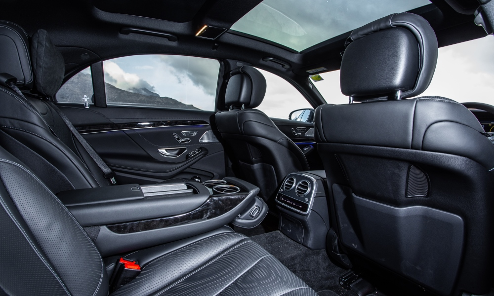 CAR's taller staffers all felt comfier in the back of the S-Class