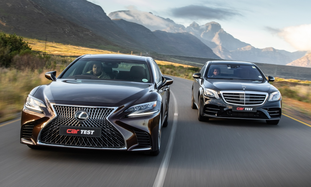 The new Lexus LS500 is here to take on the facelifted Mercedes-Benz S560L.