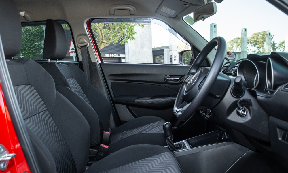 Lower seating position all-round frees up headroom.