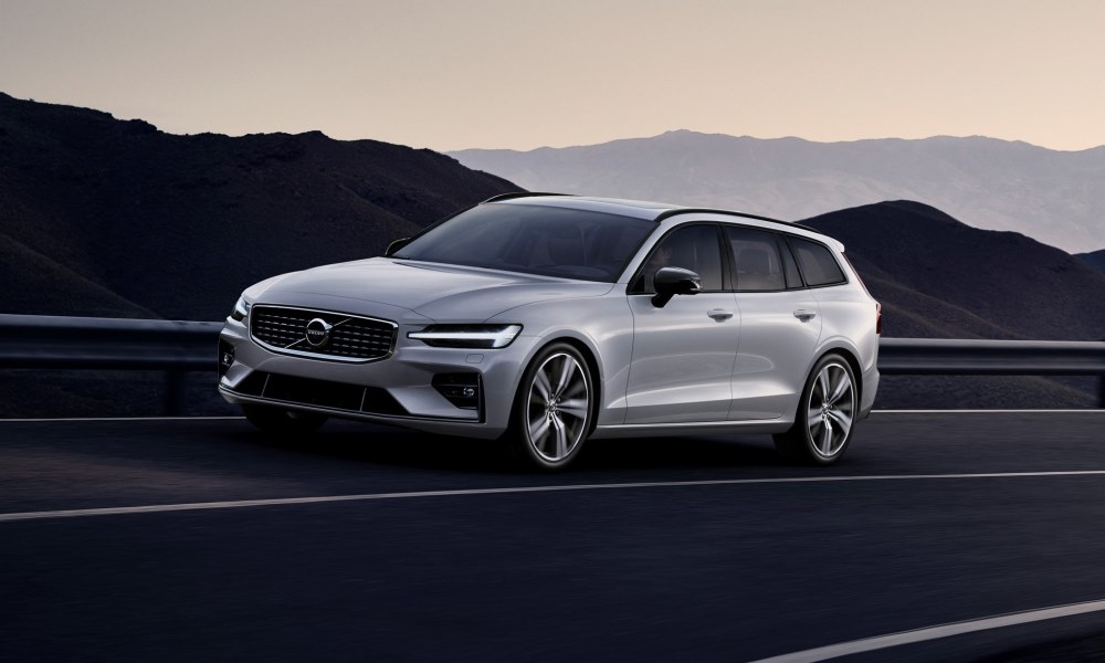 An R-Design package is now available for the Volvo V60.
