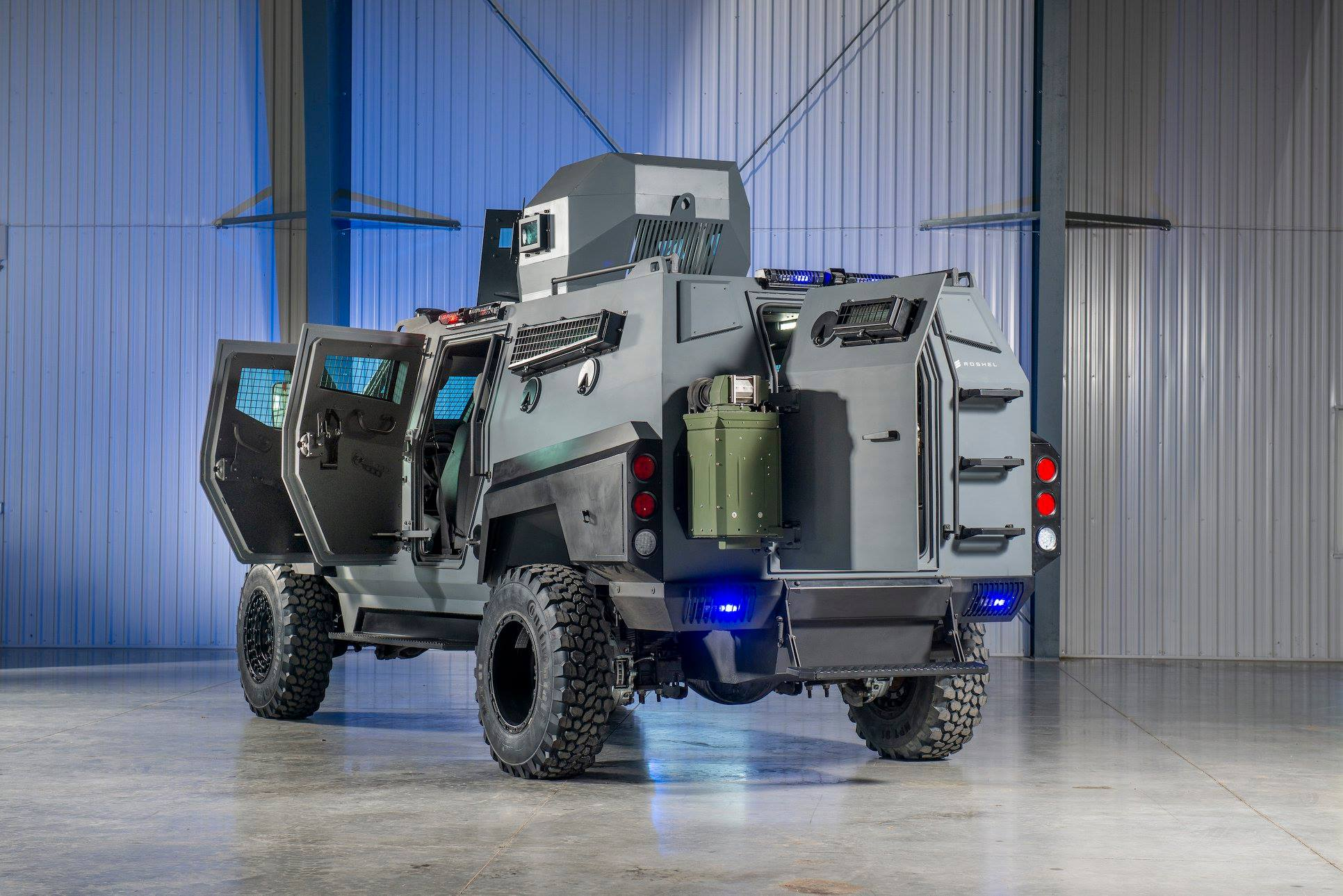 Military certified suspension are but some of the equipment fitted to this flagship armoured vehicle.
