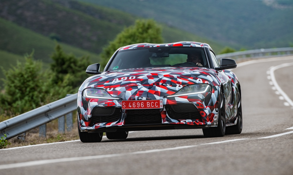 We drive the new Toyota Supra.