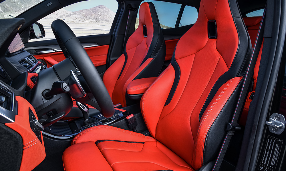 Newly optional M Sport seats seem appropriate for the cabin and are said to be both supportive and comfortable.