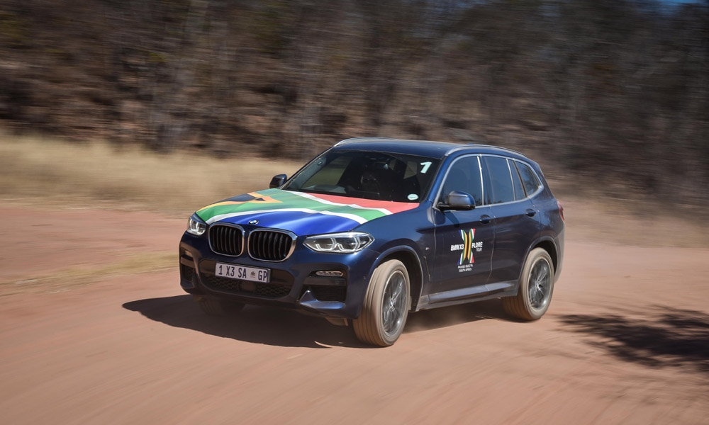 The new BMW X3, proudly manufactured in SA. *Note, this gallery shows various X3 models.