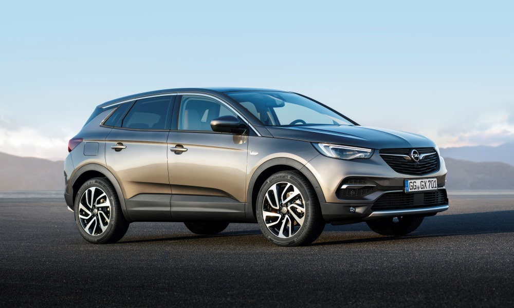 Opel's new top-of-the-range Grandland X's features a more powerful engine.