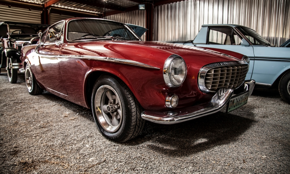 Magda Ferreira's 1963 Volvo P1800, one of the earlier cars built by Jensen in the UK.