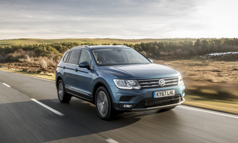 The Tiguan Allspace with 162 kW, catering for those who want space, but still some level of performance.