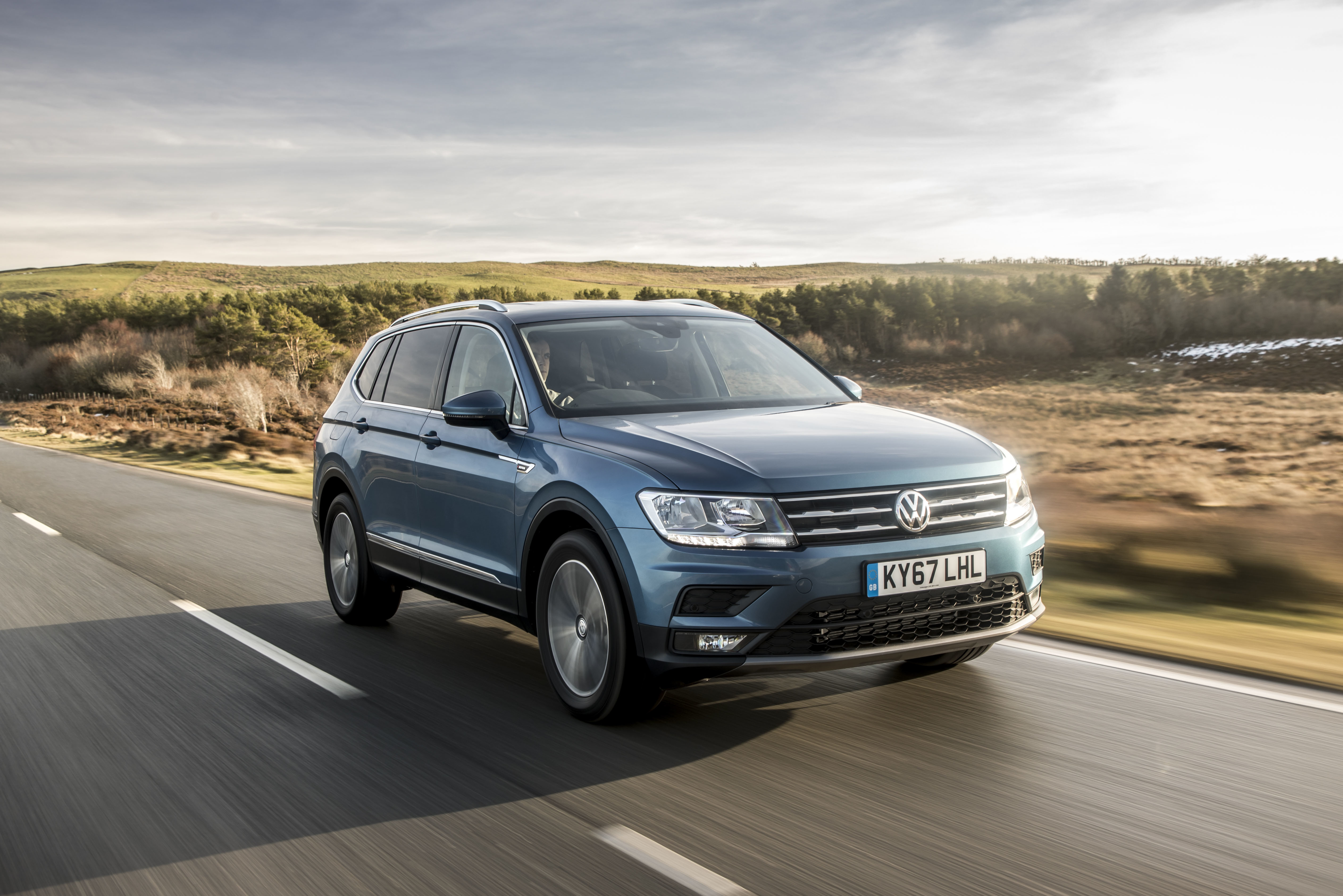 The Tiguan Allspace can be had with a 162 kW engine.