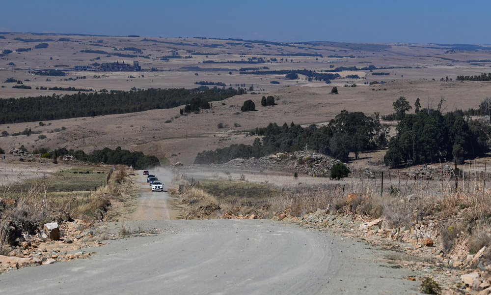 The route included long stretches through Limpopo as well.