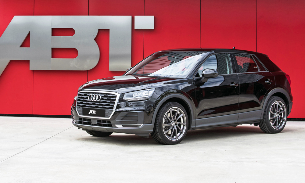 ABT Sportsline has done its thing with the Audi Q2.