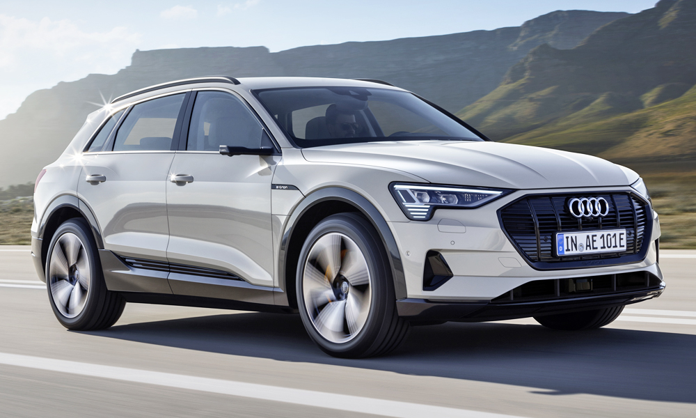 The new Audi e-tron has finally been revealed.