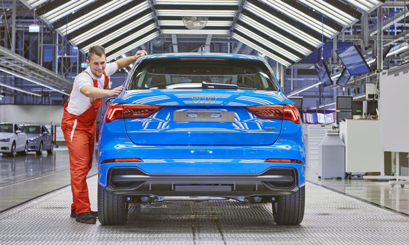 Audi Hungaria has started series production of the new Q3.