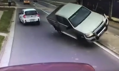 Bakkie crashes into parked truck