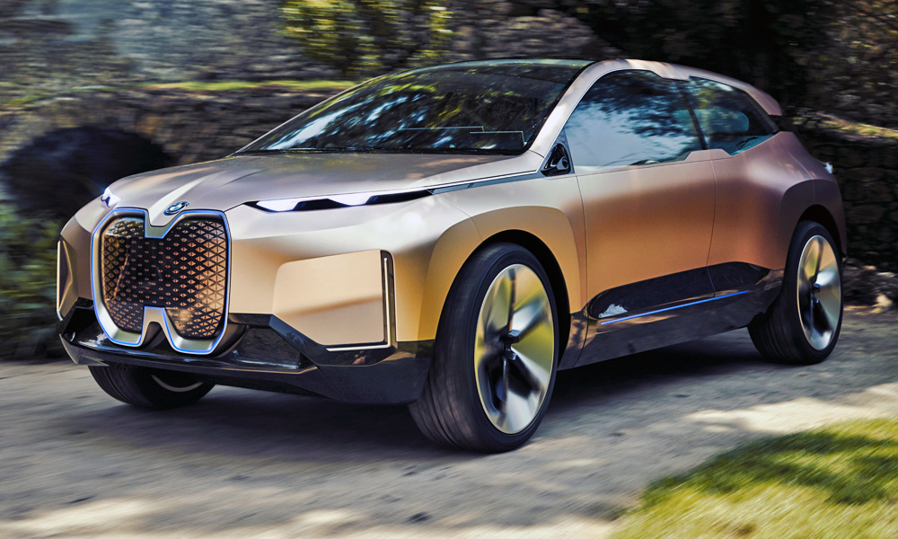 The new BMW Vision iNext concept has been revealed.