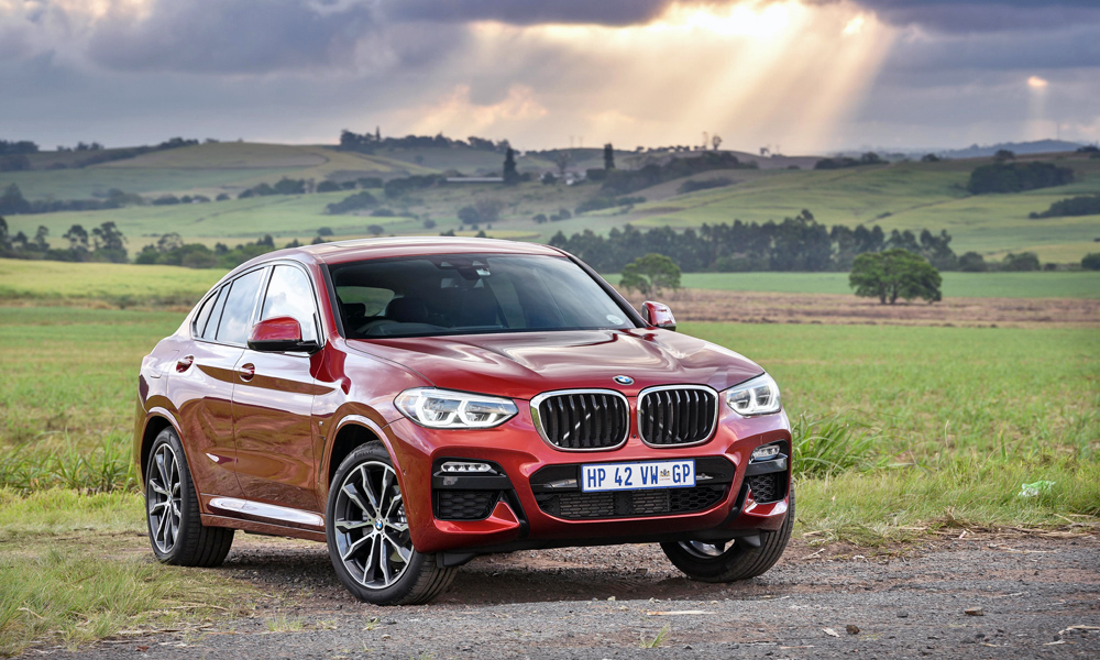 The new BMW X4 has arrived in South Africa.